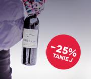 Wyprzedaż na Zimę 2020! Wybrane wina -25% taniej