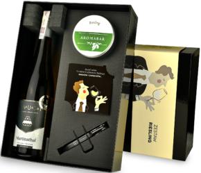 Zestaw Aromabar Riesling z winem Faust