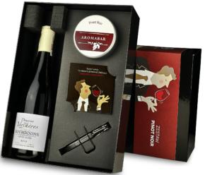 Zestaw aromabar wino pinot noir zapachy