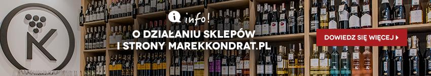 Ważne informacje o zakupach w Kondrat Wina Wybrane