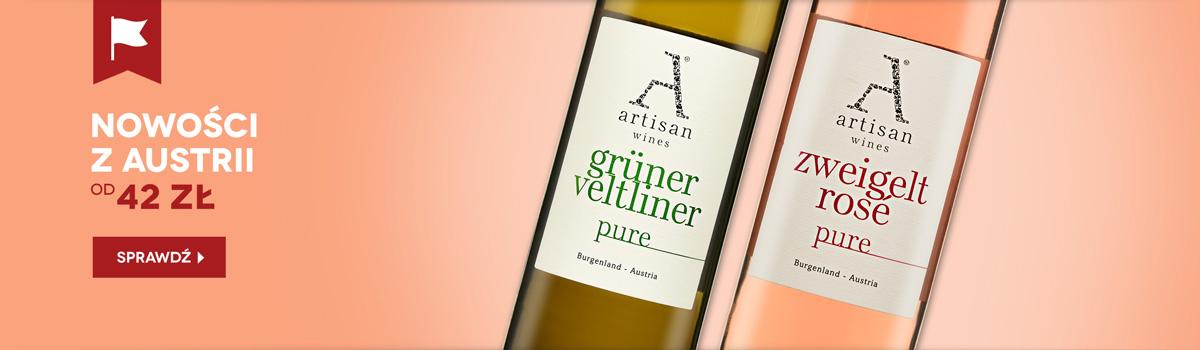 Nowe wina z Austrii