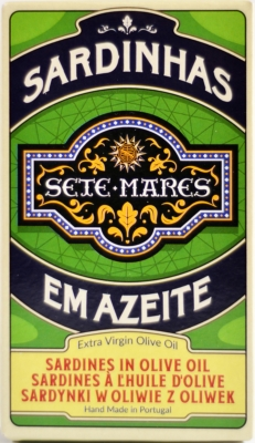 Sete Mares sardynki w oliwie extra virgin (120 g)