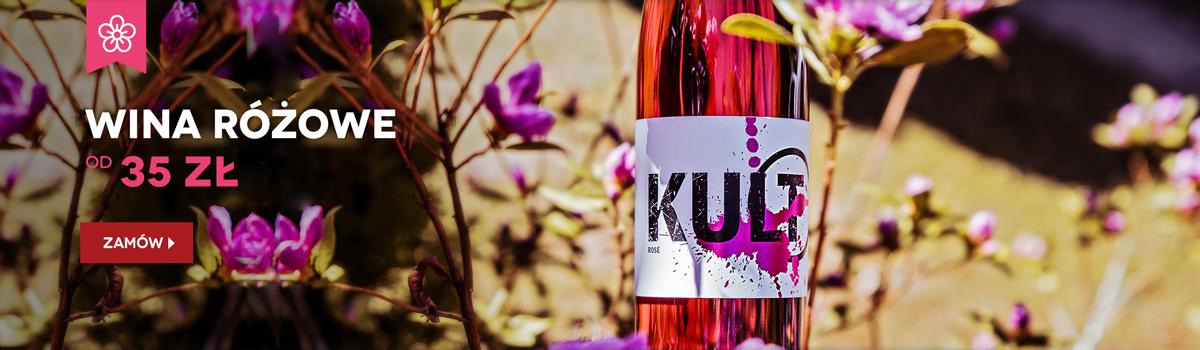 Wina różowe od 35 zł