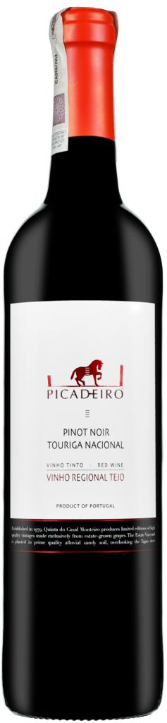 Wino Casal Monteiro Picadeiro Pinot Noir Touriga Nacional Tejo VR 2018