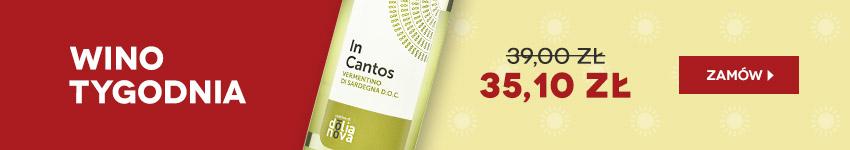 Wino tygodnia z Sardynii w promocji za 35,10 zł