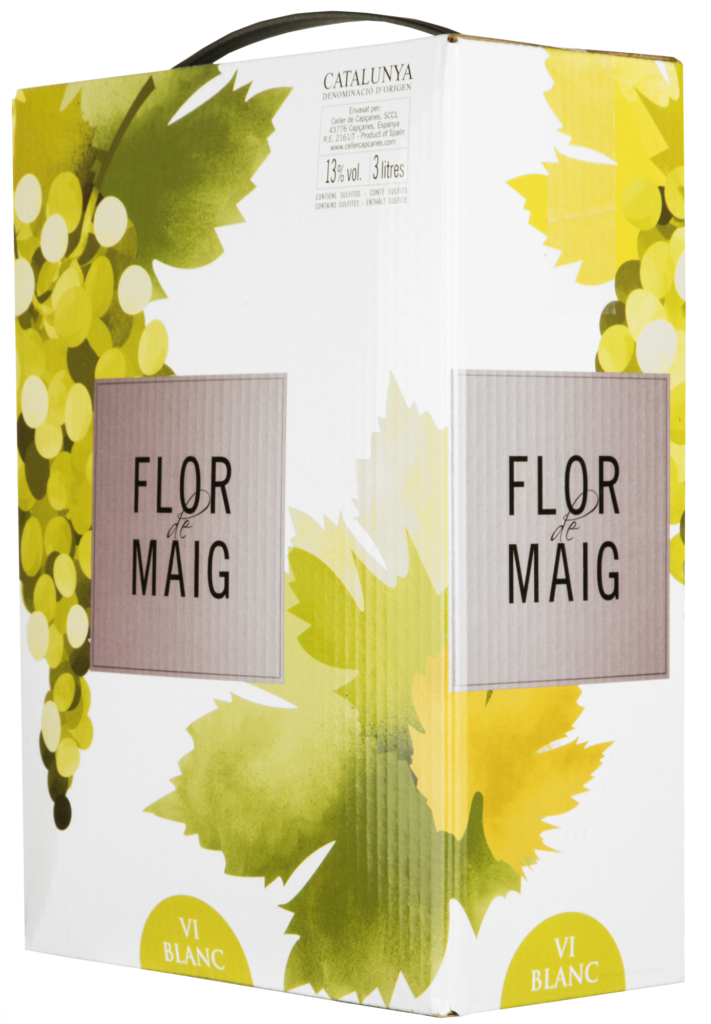 Wino Bag-in-Box: Capcanes Flor de Maig Blanco Catalunya DO 3 l