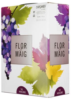 Bag-in-Box: Capcanes Flor de Maig Negre Catalunya DO 3 l