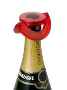 Korek do szampana AdHoc GUSTO czerwony