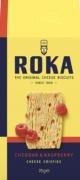 Biszkopty serowe ROKA Cheddar z malinami (70 g)