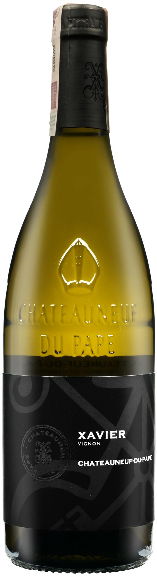 wino francuskie dolina rodanu chateauneuf du pape blanc