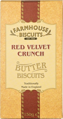 Ciasteczka Farmhouse Lux Red Velvet Crunch (150 g)