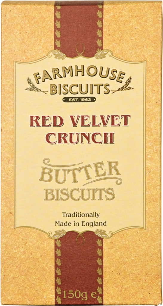 Ciasteczka Farmhouse Lux Red Velvet Crunch (150 g)