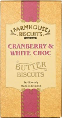 Ciasteczka Farmhouse Lux Cranberry White (150 g)