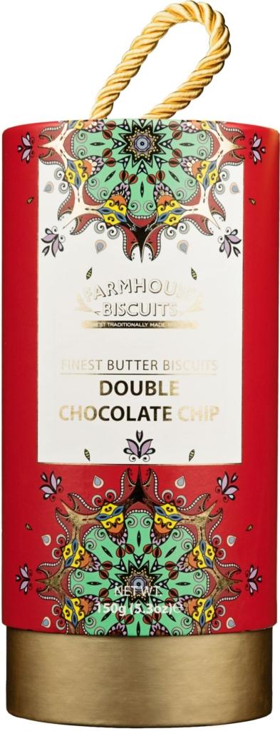 Ciasteczka Farmhouse Kensington Gift Tube Double Chocolate Biscuits (150 g)