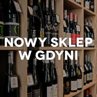 Nowy sklep Kondrat Wina Wybrane w Gdyni