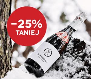Wyprzedaż na Zimę 2021! Wybrane wina -25% taniej
