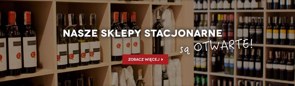 Nasze sklepy z winem są otwarte!