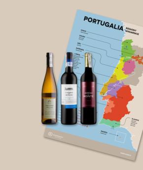 Portugalia + mapa
