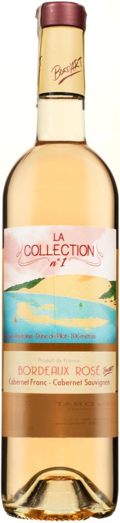 Wino Bord'Art Collection no. 1 Bordeaux Rosé AOC 2019