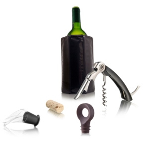 Vacu Vin Zestaw do podawania wina dla początkujących (4 elementy)