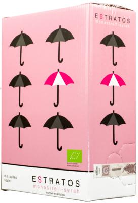 Bag-in-Box: Rosario Estratos Rosado Monastrell Syrah 3l