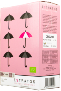Wino Bag-in-Box: Rosario Estratos Rosado Monastrell Syrah 3l