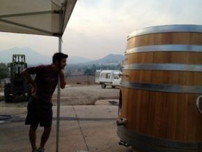 Beczka z winem z winnicy 4 Kilos