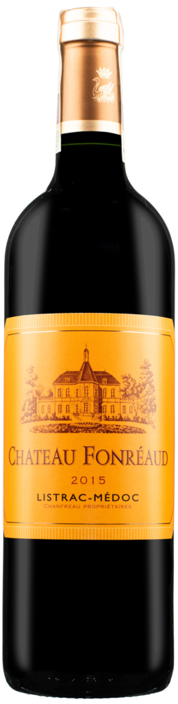 Wino Chateau Fonreaud Listrac-Medoc AOC 2015