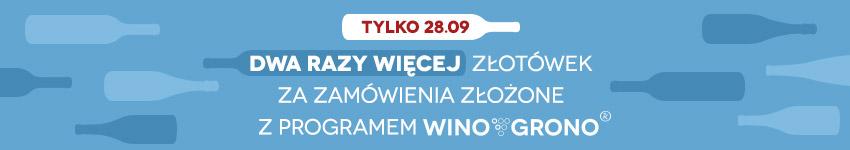 2x więcej złotówek w WINO GRONO!